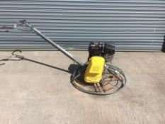 Wacker NeusonCT36 WM270 Power Float With Blade Transport Protector