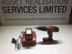 Hilti SFH 22-H Cordless Hammer Drill With Charger & Battery