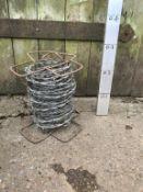 Vintage Reel of barbed wire - Good Film prop