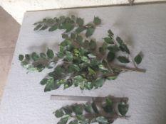 100 pieces Artificial Ficus benjamina foliage