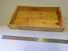 20 x Vintage Wooden Seed Trays 30 (l) x 20 (w) x 5 (h) cm