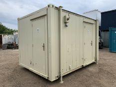Portable Toilet Block 12ft