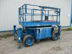 2006 Skyjack 6826 RT 4wd Scissor Lift Access Platform Cherry Picker MEWP Genie