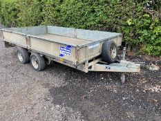 Ifor Williams LM126 Flat Bed Trailer 12ft x 6ft 2007