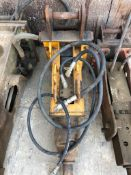 JOB LOT 13/14 Tonne Excavator Buckets, Breaker, Tines, Augers