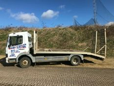 Mercedes Atego Recovery Truck 2000