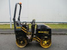 2007 Bomag BW80 Vibrating Roller ride on
