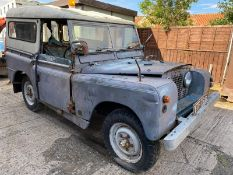 Barn Find Land Rover Series 2A