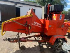 Camon C 300 Commercial Wood Chipper