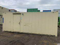 Anti Vandal Steel Portable Office 20 x 8ft