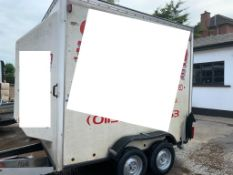 Indespension 8x4 Box Trailer With Ramp
