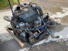 Mercedes Vario Engine & Gearbox