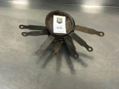 6 x Cast Iron Mini Frying Pans