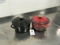 2 x Vogue Casserole Pots