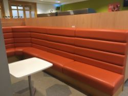 Fitted Run of Padded Bench Seating