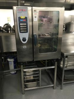 Rational SCC 1019 Gas Fired Combi Oven