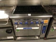 Imperial GIR-36BRC 6 Burner Gas Griddle Oven