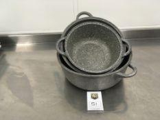3 x LaTavola Cooking Pots