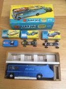Rare Corgi Toys Gift Set 16 - Ecurie Ecosse Car Transporter & 3 Racing Cars