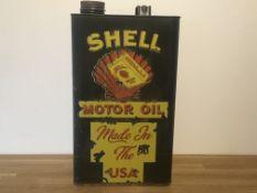 Shell Motor Oil Petrol Can