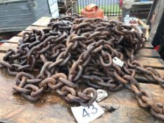 4 x 16t Lashing Chains Circ 6M