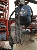 Demag 1tonne 6M Circa Electric Chain Block