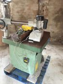 Wadkin BEM Spindle Moulder With Steff 2034