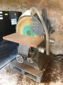 "Wadkin JV twin head 30"" Pattern Makers Disc Sander"