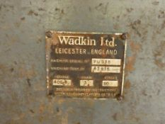 Wadkin PU Straight Line Edger Rip Saw