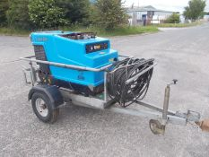 Edge V 200 MD Towable Hot and Cold Diesel Engined Pressure Washer 200 Bar