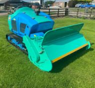 Baroness HM1560K Tracked Bank Flail Mower Ride On