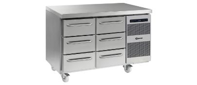 Gastro K 1407 CSH B 3D/3D C1 U refrigerated counter