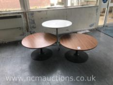 x3 Round Tables