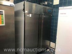 Scan Frost to Door Stainless Steel Freezer