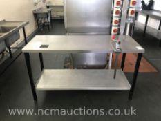 Stainless Steel Countertop & Industrial Tin Opener