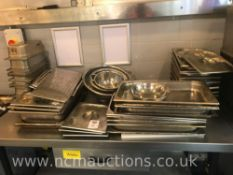 Selection of Stainless Steel Catering Pan & Trays