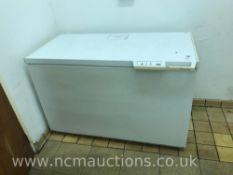 Large Electrolux chest freezer