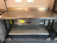Stainless Steel Kitchen Counter with Draw