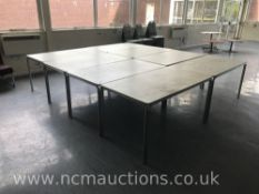 Eight Canteen Tables