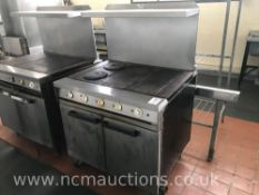Falcon Dominator Oven with Two Hot Plates