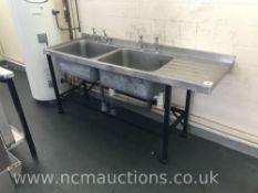 Large Double Sink Unit