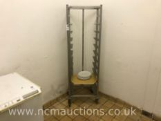 Portable Tray Rack