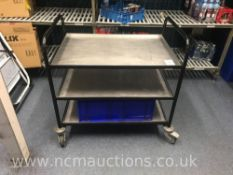 Three Tier Serving Trolley