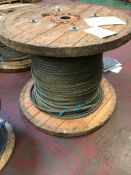 13MM DIA WIRE ROPE ON DRUM CIRCA 300M