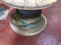 28MM DIA WIRE ROPE ON DRUM CIRCA200M