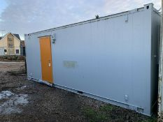 Anti Vandal Steel Portable Office 20 x 8ft