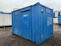 Anti Vandal Steel Portable Office Canteen 12ft x 8ft 2017