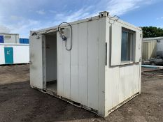 Anti Vandal Steel Portable Office 12ft x 8ft