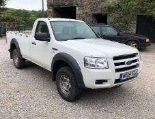 2009 Ford Ranger NO VAT Appraisal:Used Model/Serial No: Hours/Miles: Location: Carnforth,