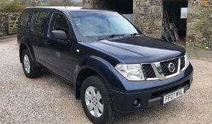 Nissan Pathfinder NO VAT Appraisal:Used Model/Serial No: Hours/Miles: Location: Carnforth,